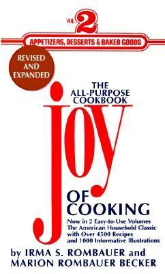 Joy of Cooking Appetizers, Desserts and Baked Goods