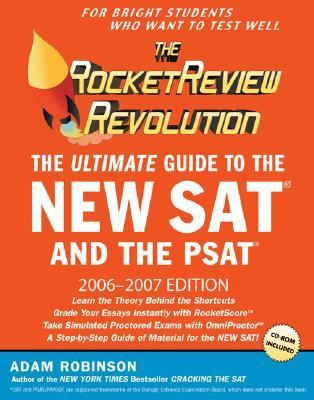 Rocketreview Revolution The Ultimate Guide to the New Sat and the Psat  Newly Updated for the 2006-2007 Academic Year