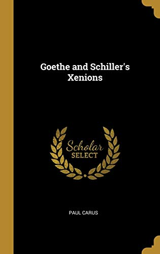 Goethe and Schiller's Xenions