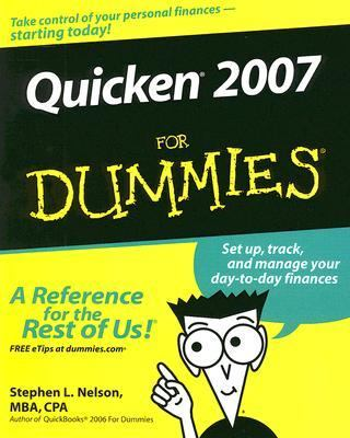 Quicken for Dummies 2007