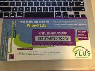 29 deals were found for Wiley Plus Access Code. Deals are available from 4 stores and 1 brands. An additional discount is available for 10 items. Last updated on December 2, Scanning all available deals for Wiley Plus Access Code shows that the average price across all deals is $