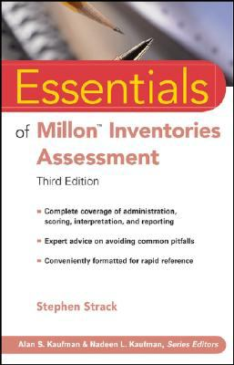 Essentials of Millon Inventories Assessment