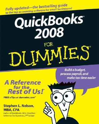 QuickBooks 2008 for Dummies