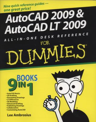 "AutoCAD ""X"" & AutoCAD LT ""X"" All-in-One Desk Reference For Dummies"