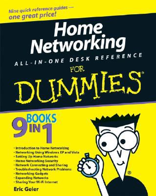 Home Networking All-in-One Desk Reference for Dummiesr