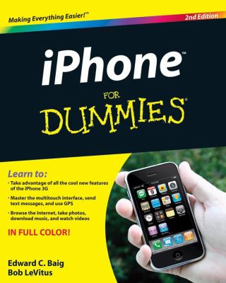 Iphone for Dummies, 2nd Edition