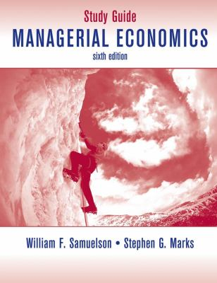 Managerial Economics, Study Guide
