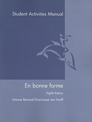 En Bonne Forme, Student Activities Manual