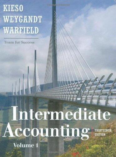 Intermediate Accounting Thirteenth Edition,  vol. 1-2