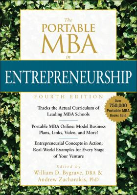 The Portable MBA in Entrepreneurship