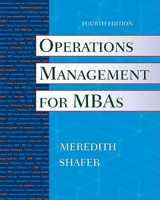 Operations Management for MBAs