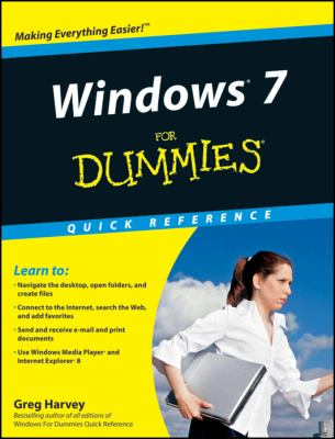 Windows 7 For Dummies Quick Reference (For Dummies (Computer/Tech))
