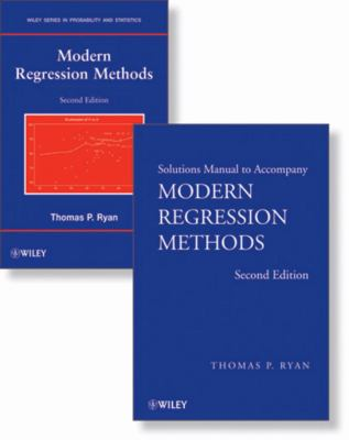 Modern Regression Methods, Set (Wiley Series in Probability and Statistics)