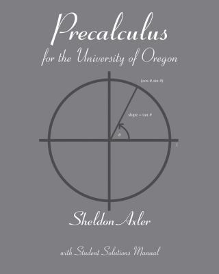 Pre-calculus for the University of Oregon