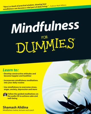 Mindfulness For Dummies (For Dummies (Psychology & Self Help))