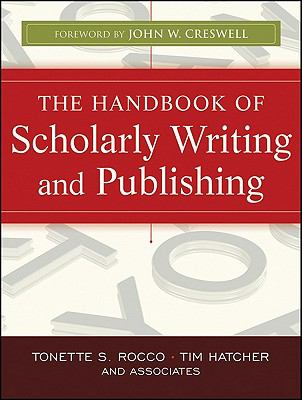 book cover: the handbook of scholarly writing and publishing