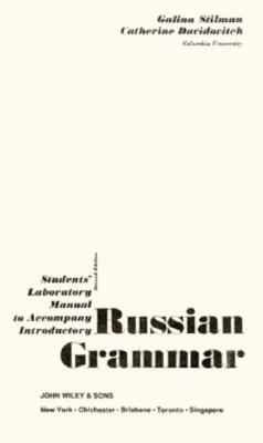 Introductory Russian Grammar, Workbook