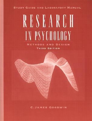 Research in Psychology Methods and Design  Study Guide and Lab Manual