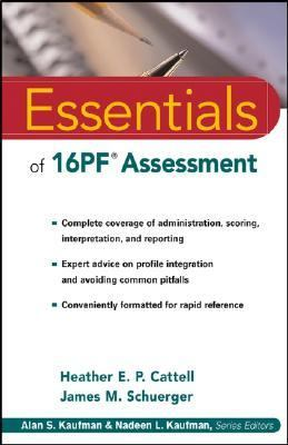 Essentials of 16Pf Assessment