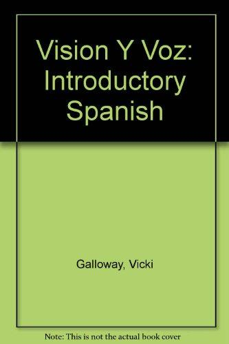 Visi?n y voz: Introductory Spanish