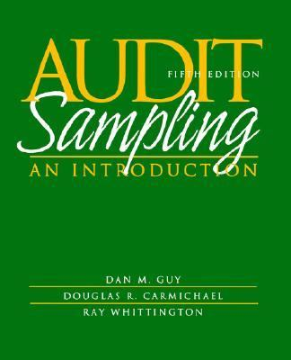Audit Sampling An Introduction