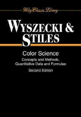 Color Science Concepts and Methods, Quantitative Data and Formulae