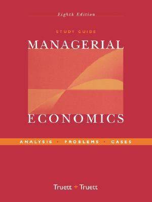 Managerial Economics Analysis, Problems, Cases