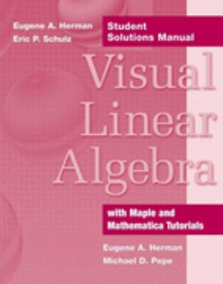 Visual Linear Algebra, Student Solutions Manual
