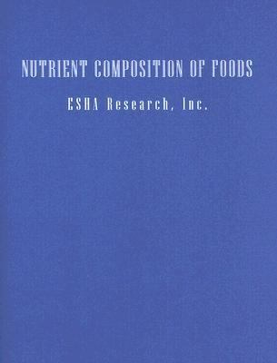 Nutrition Everyday Choices, Nutrient Composition of Foods
