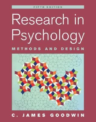Research in Psychology Methods And Design