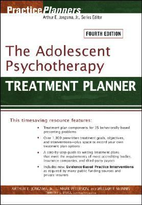Adolescent Psychotherapy Treatment Planner