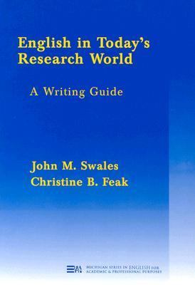 English in Today's Research World A Writing Guide