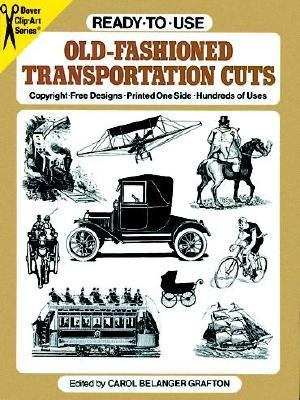 Ready to Use Old Fashioned Transportation Cuts