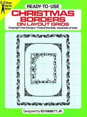 Ready-To-Use Christmas Borders on Layout Grids