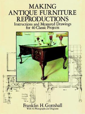 Making Antique Furniture Reproductions Instructions and Measured Drawings for 40 Classic Projects