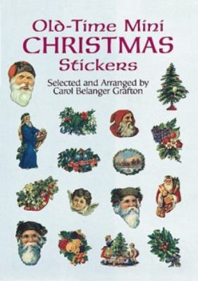 Old-Time Mini Christmas Stickers