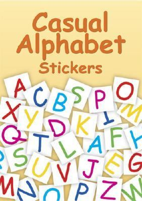 Casual Alphabet 168 Stickers