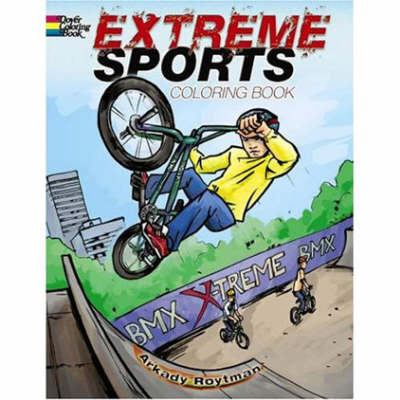 Extreme Sports Coloring Book