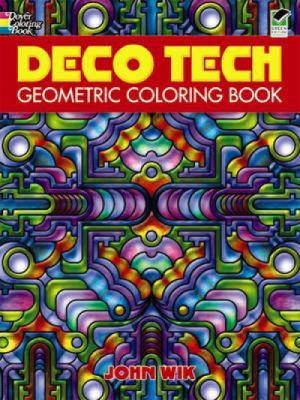 Deco Tech: Geometric Coloring Book
