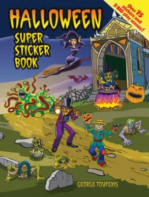 Halloween Super Sticker Book (Super Sticker Books) (English and English Edition)