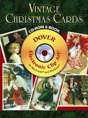 Vintage Christmas Cards CD-ROM and Book