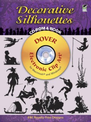 Decorative Silhouettes Dover Electronic Clip Art for Macintosh and Windows