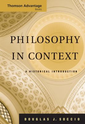 Philosophy In Context A Historical Introduction