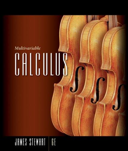 Student Solutions Manual for Stewart's Multivariable Calculus, 6th Edition