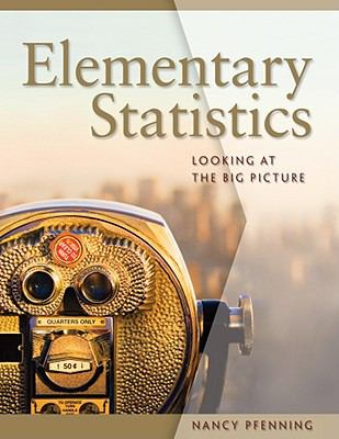 Elementary Statistics: Looking at the Big Picture (Available 2011 Titles Enhanced Web Assign)