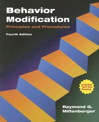 Behavior Modification Principles and Procedures