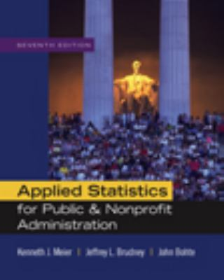 Applied Statistics for Public and Non-Profit Administration