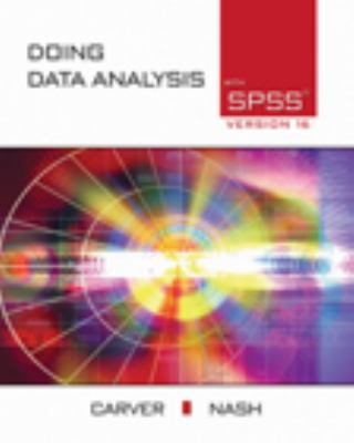 Doing Data Analysis with SPSS Version 16 with CDROM