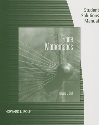 Finite Mathematics - Student Solutions Manual