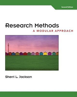 Research Methods: A Modular Approach